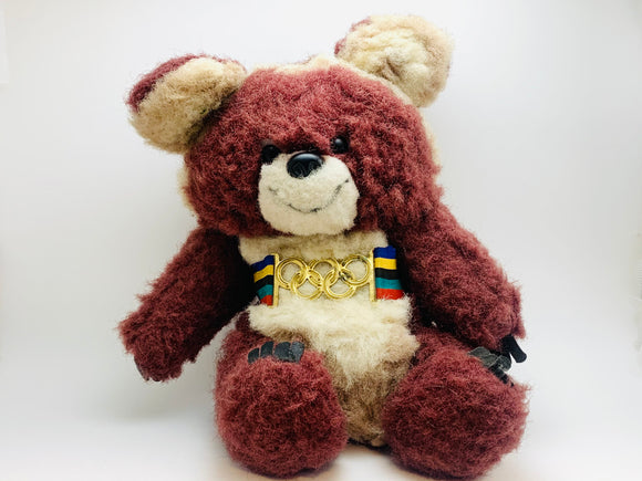 Vintage Misha The Olympic Bear