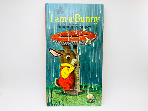 1963 I am a Bunny, Pictures by Richard Scarry