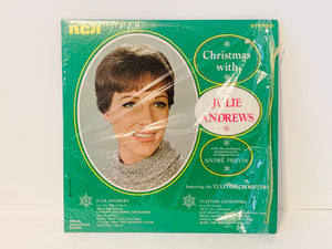 1960's Christmas with Julie Andrews LP Record