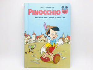 "1973 Walt Disney's ""Pinocchio and His Puppet Show Adventure"""