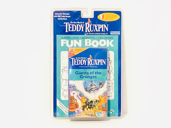 Teddy Ruxpin, Guests of the Grunges, VHS and Activity Book