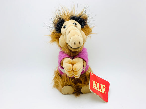 1988 ALF Alien Productions Flocked and Fury Hugger Doll