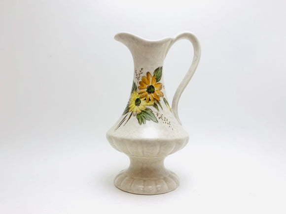 Vintage Crown Devon Fieldings Floral Jug Vase