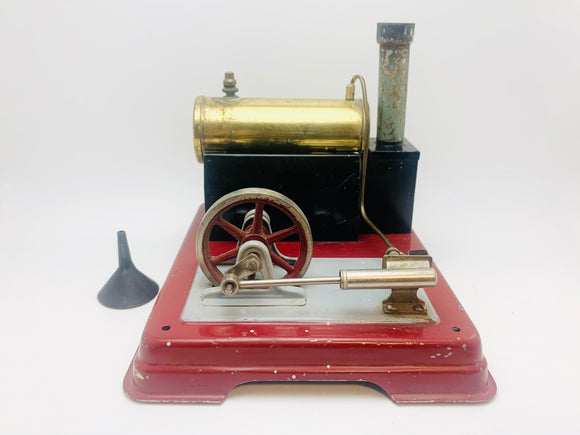 1945-52 Live Steam Engine Toy, Made in Germany US Zone