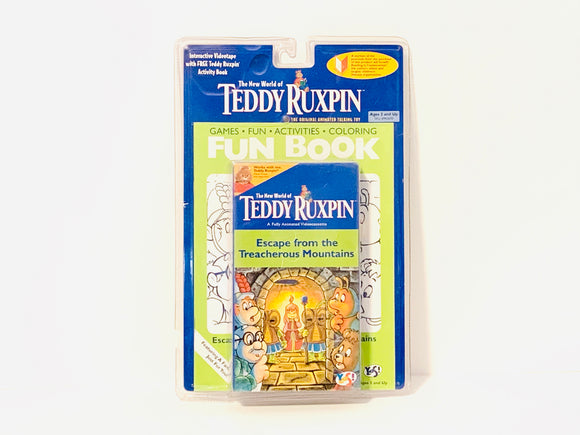 Teddy Ruxpin, Escape from the Treacherous Mountains VHS and Activity Book
