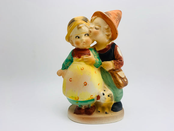 1950's Hand Painted Children Figurine