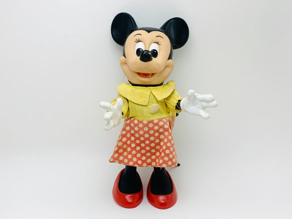 1968 Minnie Mouse Toy By Dakin, Walt Disney Productions