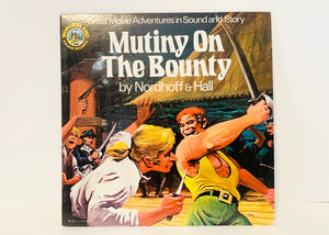 Mutiny On The Bounty by Nordhoff & Hall LP Record