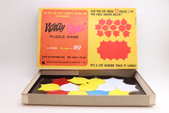 1960's Kwazy Quilt Puzzle Game