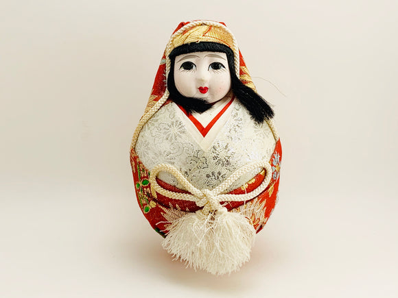 1960's-70's Japanese Gofun Wedding Doll Bride