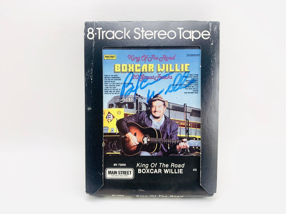 Boxcar Willie Signed 8 Track Stereo Tape