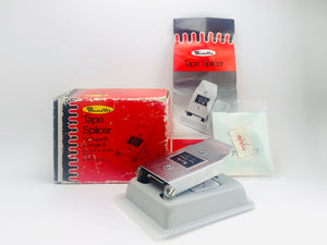 Minette Tape Splicer for Super 8 & Single 8 Film with Patches