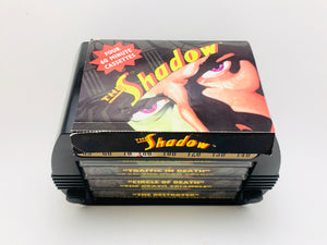 The Shadow Original Radio Broadcasts on Four 60 Min Cassettes With Radio Storage