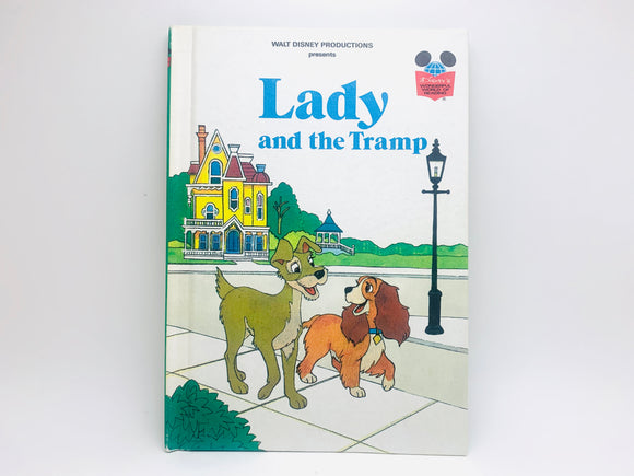 1981 Walt Disney's Lady and the Tramp, First American Edition