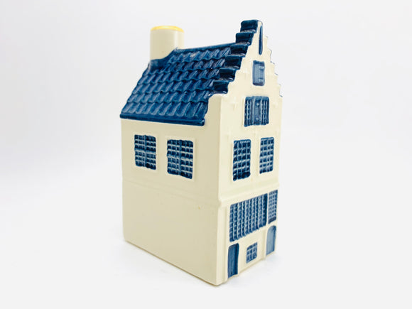 Vintage KLM BOLS Delft Miniature House No 50. Empty