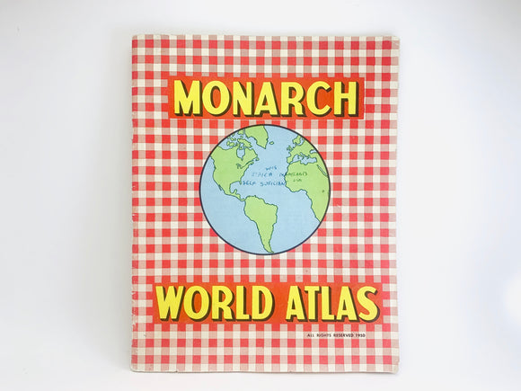 1950 Monarch World Atlas