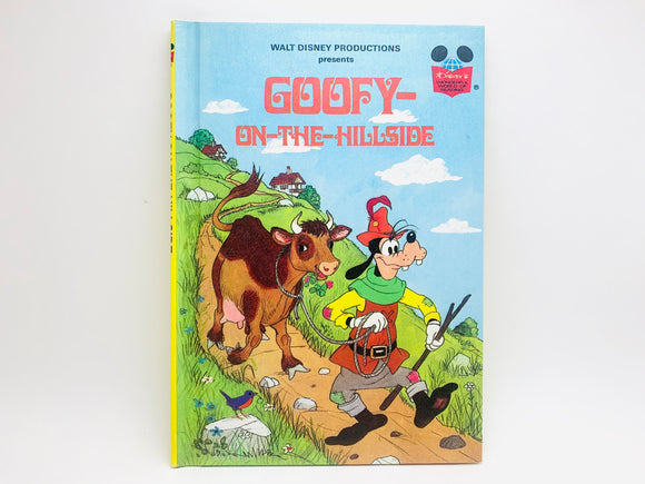 1982 Walt Disney Presents Goofy On The Hillside 1st American Edition