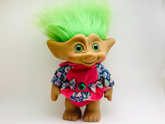 "1980's 8"" Ace Novelty Treasure Troll"