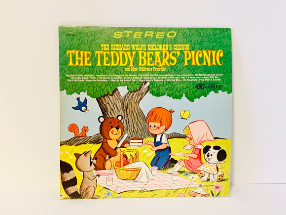 1967 The Richard Wolfe Children's Chorus, The Teddy Bear's Picnic And Other Children's Favourites LP Record