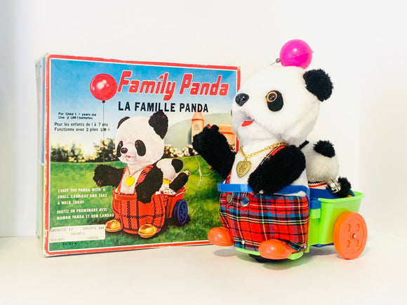 Family Panda in Original Box