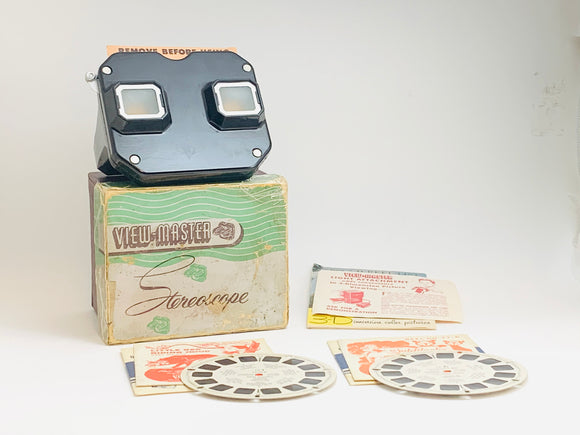 1947 Sawyers View-Master in Box with 2 Reels