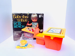 1978 Baby This 'n That 3 'n One Play Bench