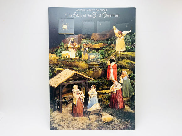Vintage Hallmark Advent Calendar, The Story of the First Christmas