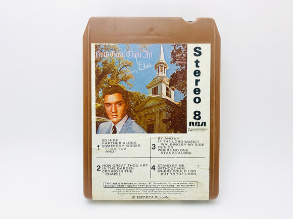 1977 Elvis Presley How Great Thou Art 8 Track