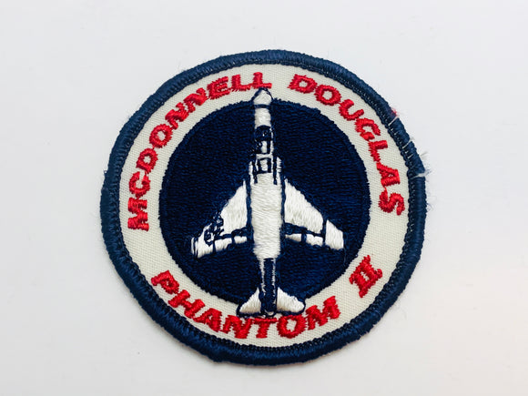 Vintage McDonnell Douglas Phantom II Embroidered Patch