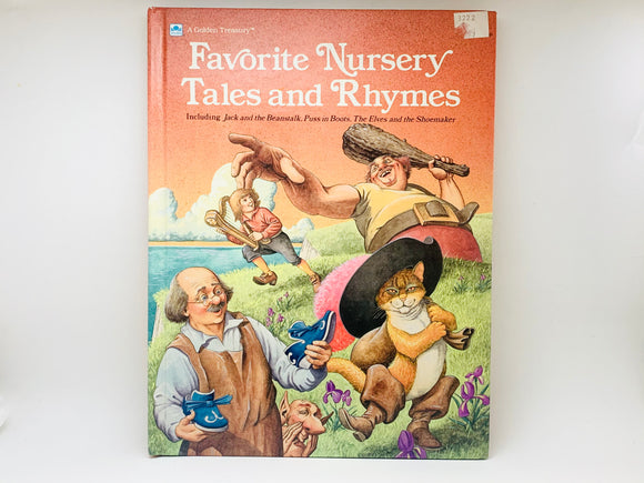 1989 Favorite Nursery Tales And Rhymes A Golden Treasury