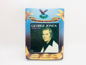 George Jones Golden Hits 8 Track Stereo Tape