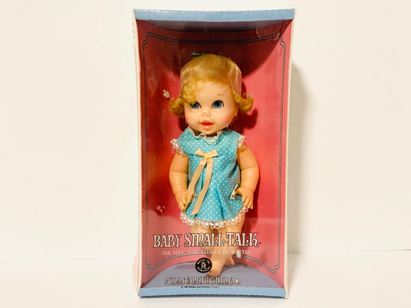 1967 Baby Small Talk by Mattel, New in Box. Not Working
