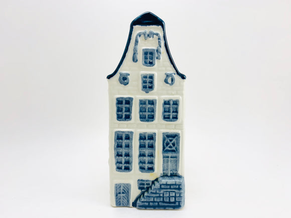 Vintage KLM BOLS Delft Miniature House No 9. Empty