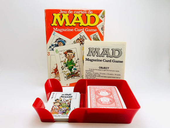 1980 MAD Magazine Card Game