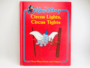 Walt Disney's 'Circus Lights, Circus Lights' Childrens Book