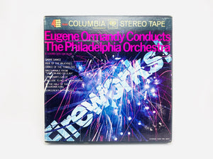 "1960's ""Fireworks"" Eugene Ormandy Conducts The Philadelphia Orchestra Reel to Reel 4 Track 7 1/2 IPS Tape"