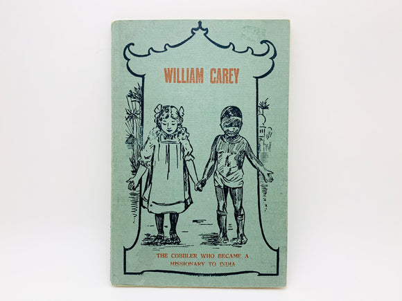 1920-30's William Carey Missionary, Lithographed Book