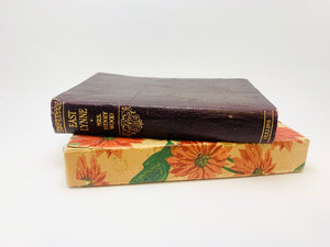 1907 East Lynne by Mrs. Henry Wood, Leather Bound
