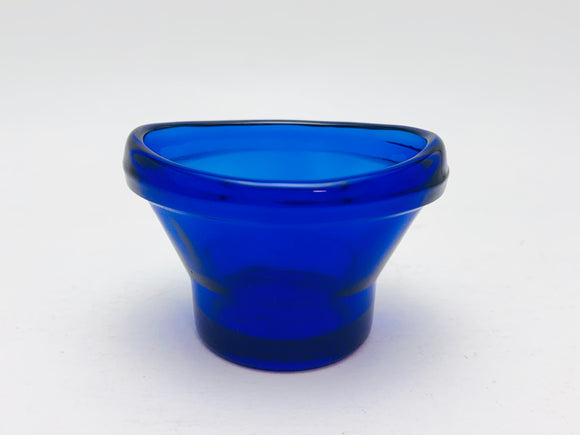 1920's Optrex Blue Cobalt Glass Eye Wash Cup