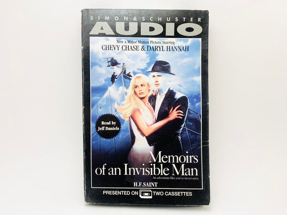 1987 Memoirs of an Invisible Man on 2 Cassettes