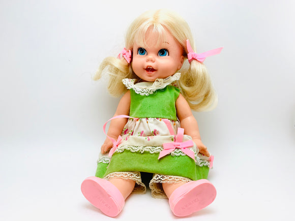 1967 Mattel Goldilocks Talking Pullstring Doll
