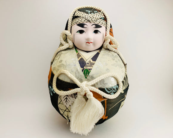 1960's-70's Japanese Gofun Wedding Doll Groom