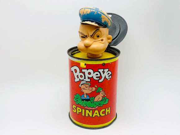 1957 Mattel Popeye in a Spinach Can
