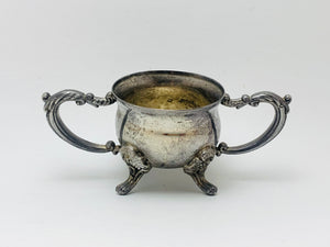 Antique Silver Plate Baby Cup