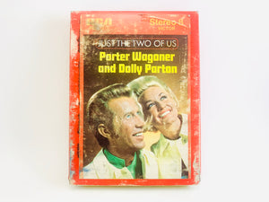 "Porter Waggoner and Dolly Parton ""Just The Two if Us"" 8 Track Stereo Tape"