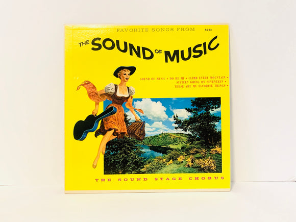The Sound of Music by The Sound Stage Chorus 1968 LP Record