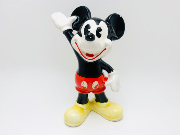 Vintage Mickey Mouse Porcelain Figurine