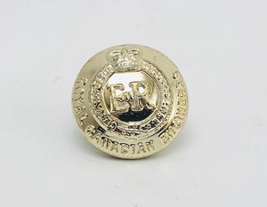 Vintage Royal Canadian Engineers Silver Button