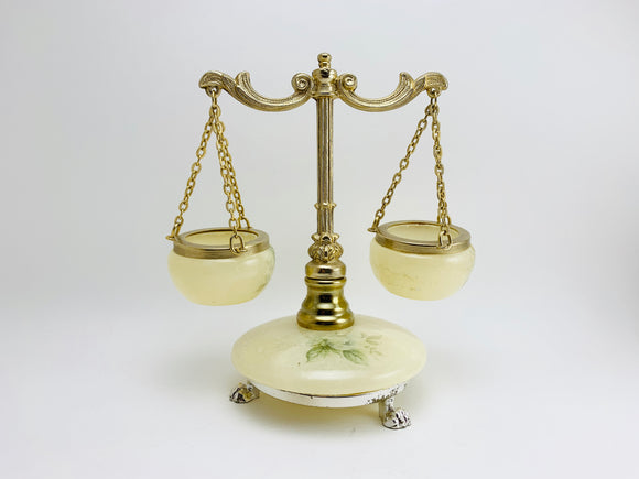 1960's Genuine Alabaster Scale