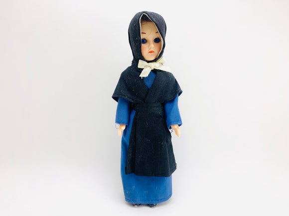 "1950's 7"" Sleepy Eye Costume Doll"
